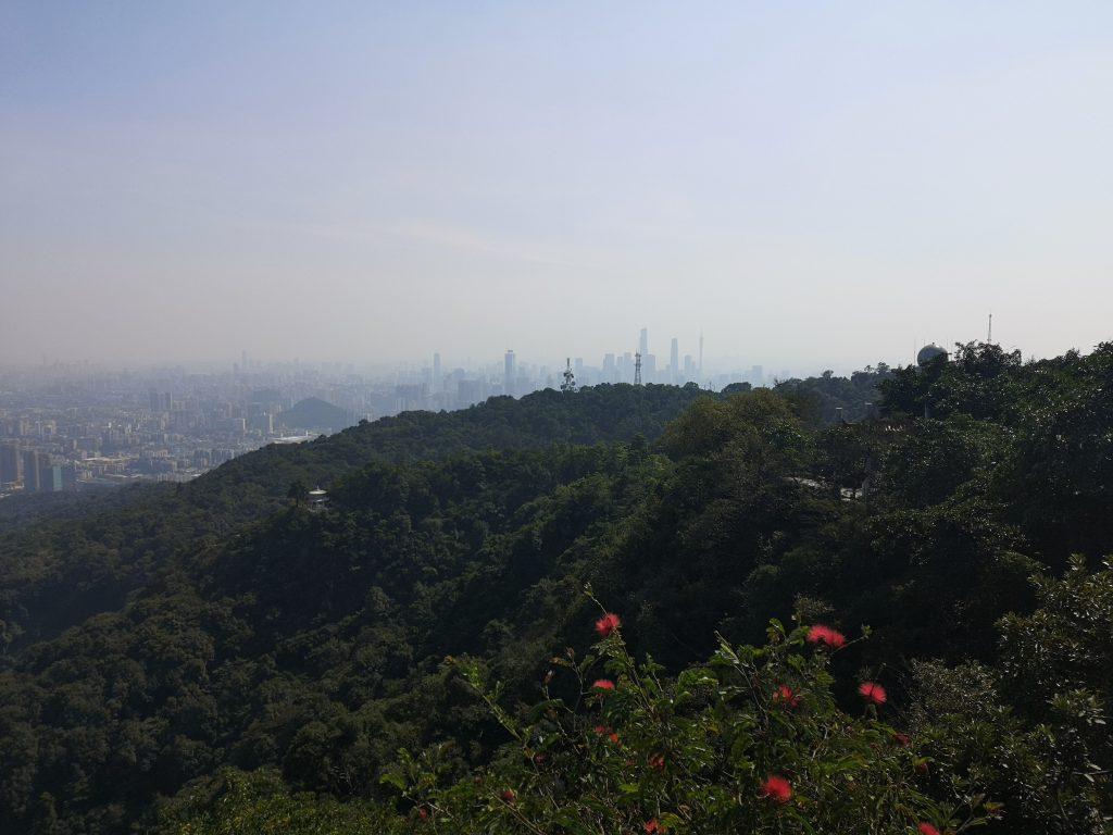 Baiyun Mountain näkymä